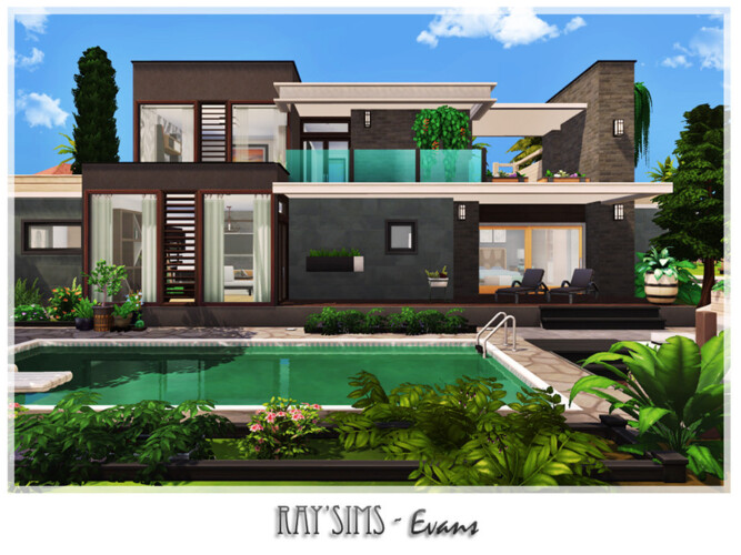 Evans House By Ray_sims