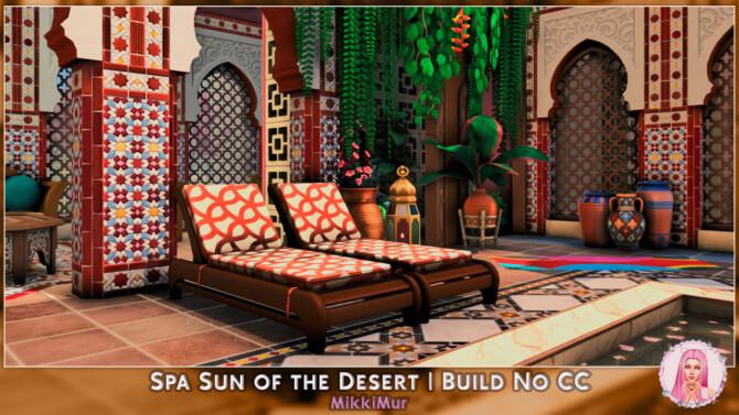 Sims 4 Spa Sun of the Desert at MikkiMur