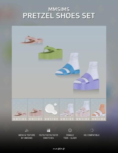 Pretzel Shoes Set Af
