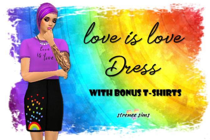Dress With Bonus Tees