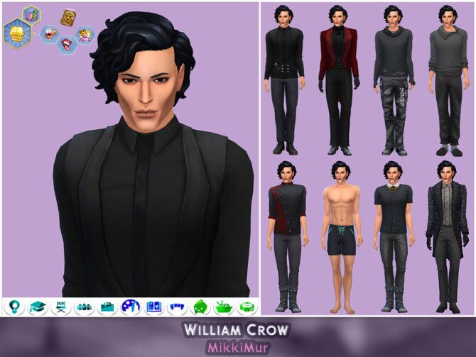 Sims 4 Male Townies for Glimmerbrook at MikkiMur