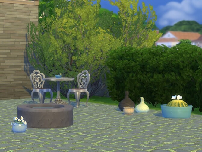 Sims 4 Pots and Pieces at KyriaT's Sims 4 World