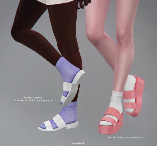 Sims 4 Pretzel Shoes Set AF at MMSIMS