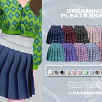 Dreaming Pleats Skirt