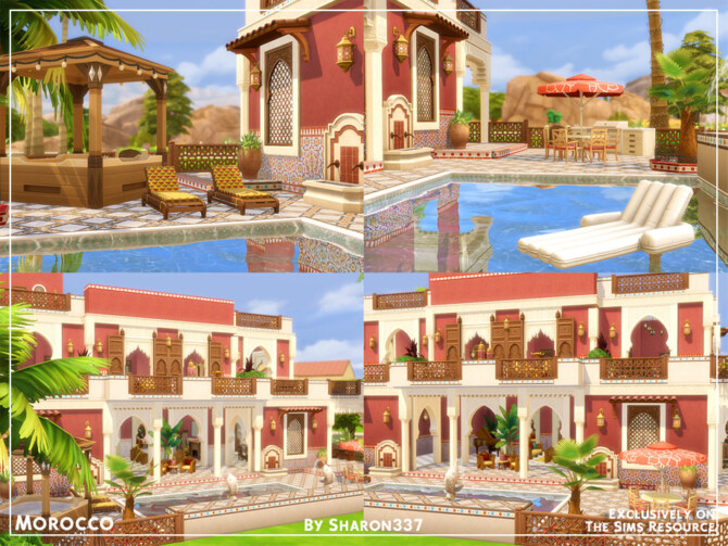 Sims 4 Morocco house by sharon337 at TSR