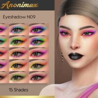 Eyeshadow N09 By Anonimux Simmer