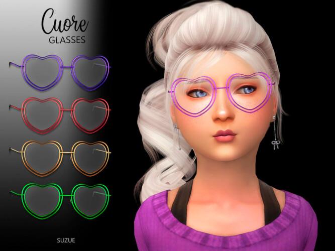 Cuore Glasses Child By Suzue