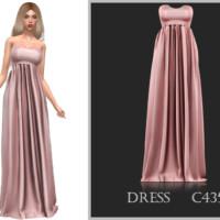 Dress C435 By Turksimmer