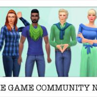 Npcs: Base Game Community Sims