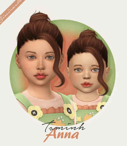 Tsminh Anna Hair For Kids & Toddlers