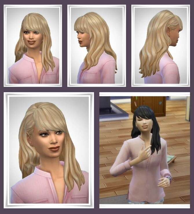 Sims 4 Harmony Hair at Birksches Sims Blog