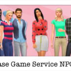 Npcs: Base Game Service Sims