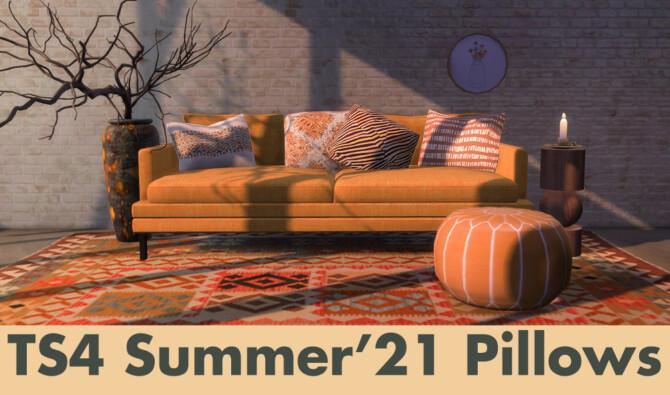 Summer 21 Pillows