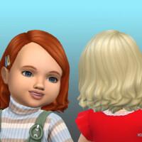 Medium Wavy Med Hair For Toddlers