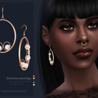 Simone Earrings By Sugar Owl