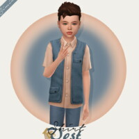 Shirt Vest Kids Version