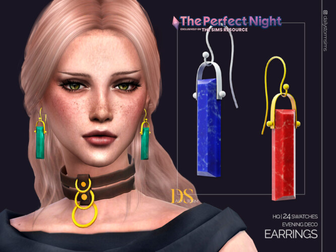 The Perfect Night Evening Deco Earrings