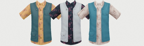 Sims 4 Shirt Vest Kids Version at Simiracle