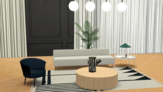 Sims 4 DORSO ARMCHAIR at Meinkatz Creations