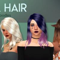 Nia Hair Maxis Match Cc