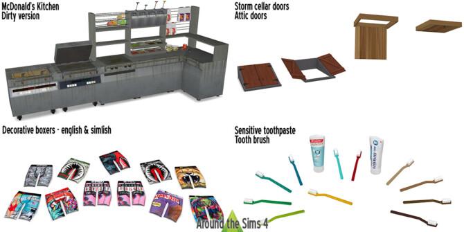 Clutter & Kitchen