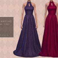 Celestial Gown (sleeveless) By Pipco