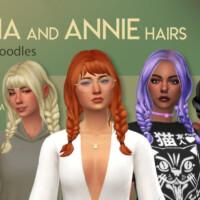 Anna And Annie Hairs