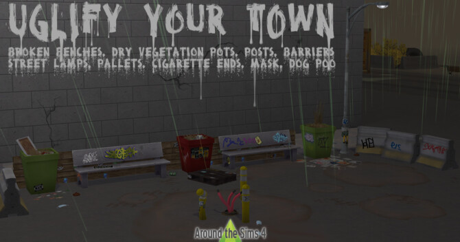 Uglify Your Town Set
