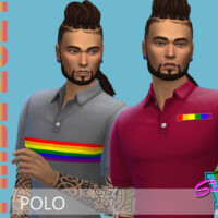 Pride21 Polo By Simmiev