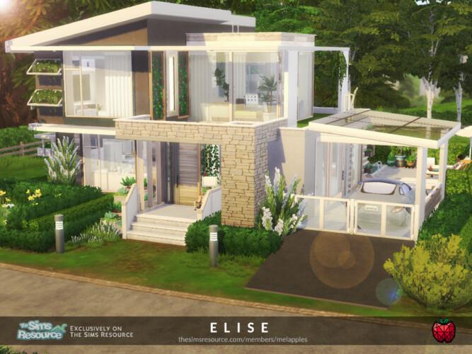 Elise House By Melapples