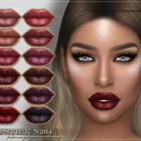 Frs Lipstick N264 By Fashionroyaltysims
