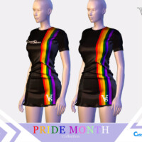 Dress I Pride Month Collection 2021 Cidade Dos Sims