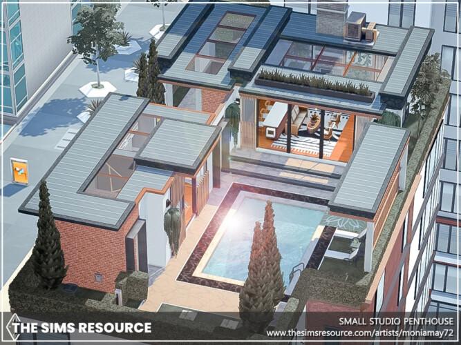 Small Studio Penthouse By Moniamay72
