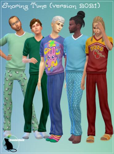 Snoring Time Pajama