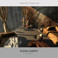 Plush Carpet Flooring