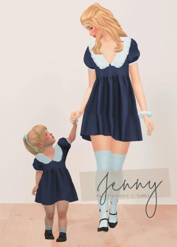 Jenny Dress + Tot Version