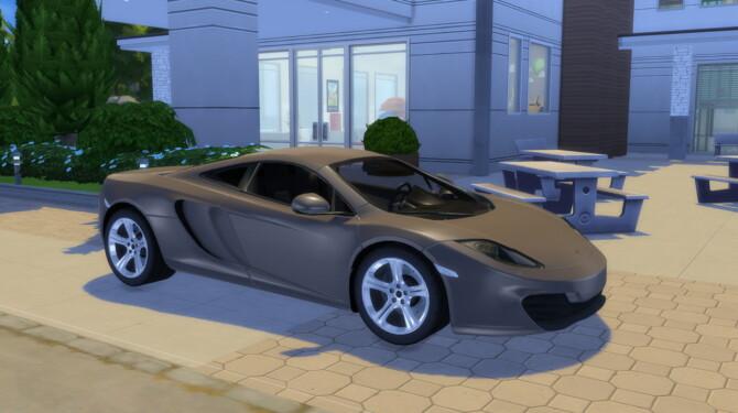 Sims 4 2011 McLaren MP4 12C at LorySims