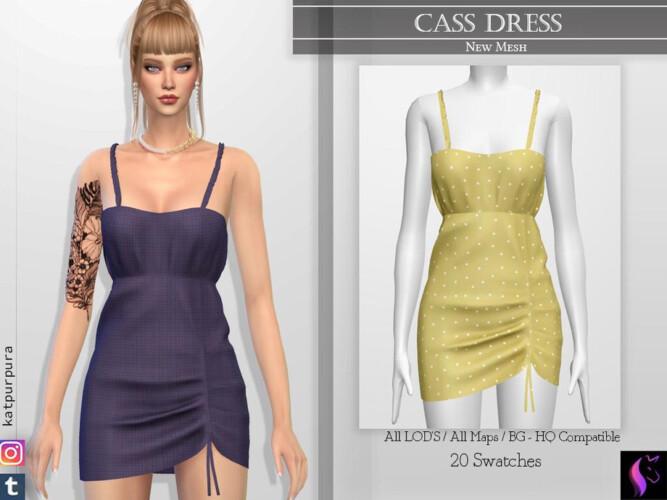 Cass Dress By Katpurpura
