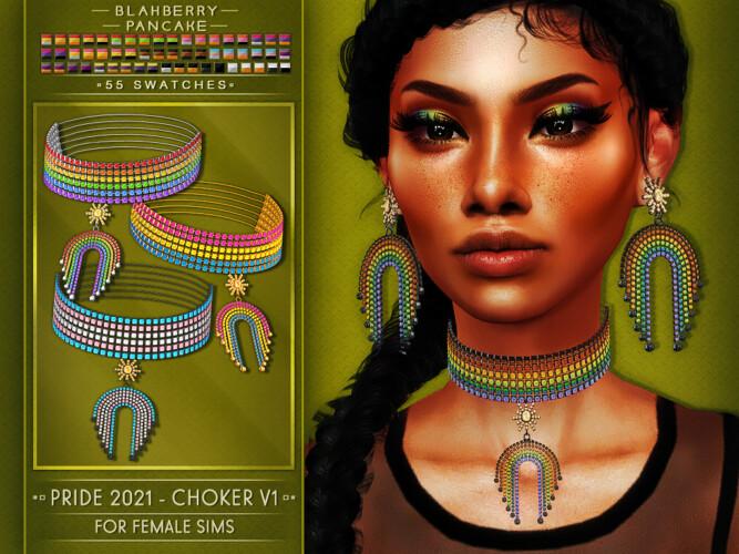 Earrings & Chokers Pride 2021