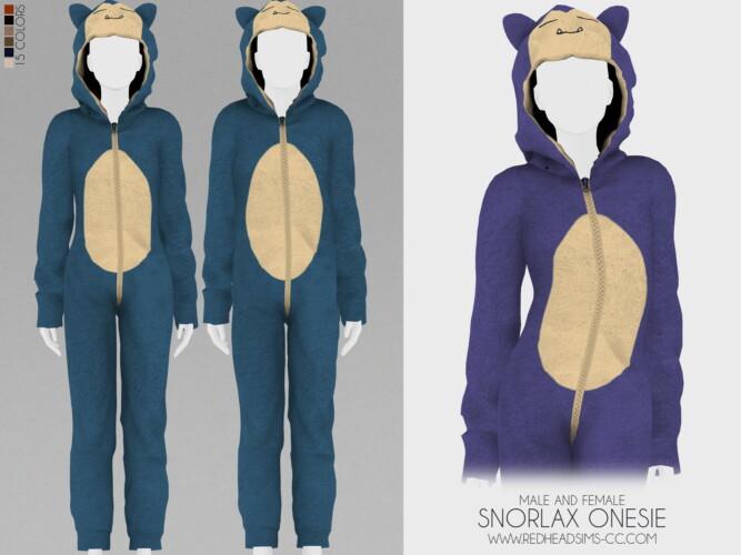 Snorlax Onesie