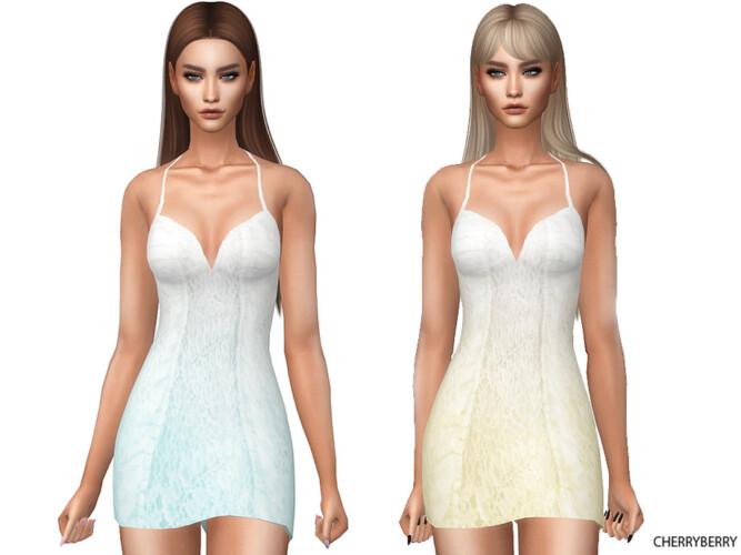 Summer Breeze Dress By Cherryberrysim