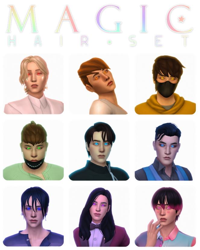 Sims 4 Because we also need cute short hairs at Simandy