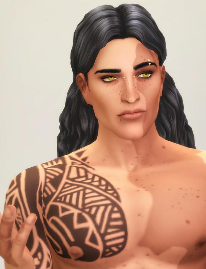 Sims 4 Seashell Wavvve Hair at Rusty Nail