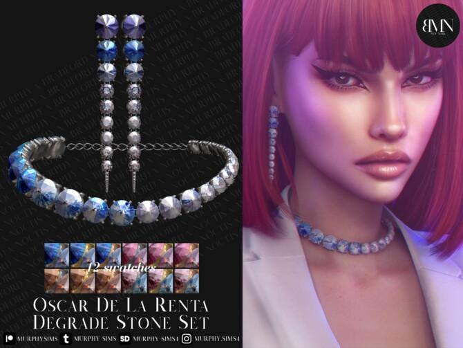 Sims 4 Degrade Stone Set at MURPHY