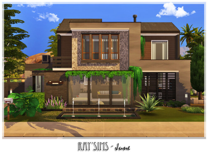 June House By Ray_sims