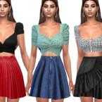Casual Skirt Mix By Saliwa