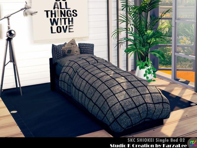 Skc Shiokei Single Bed 02