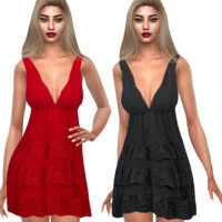 Cutwork Summer Dresses By Saliwa