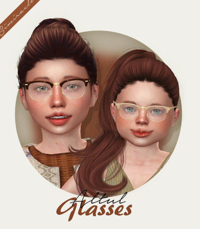 Sims 4 ALTUL Glasses at Simiracle