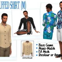 Bg Cuffed Shirt (m)